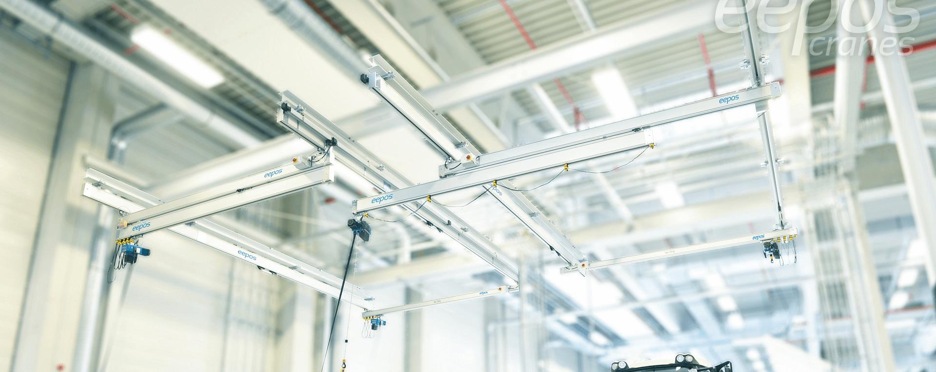 Crane|Aluminum Rails| Modular Rails| Light rail system in UAE